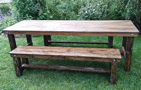 farm tables with benches san diego farm tables for sale cedar and pine events