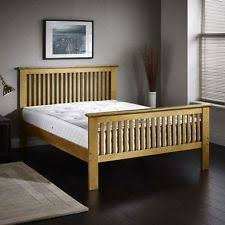 oak king size bed frame oak beds ebay