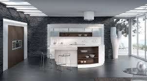 cuisine noir et blanc laqué cuisine indogate cuisine blanc mur gris cuisine blanc gris