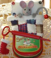 Christmas Mice Decorations 283 Best Mice Images On Pinterest Christmas Ornaments Christmas