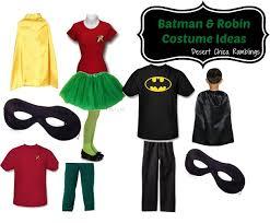 Chica Halloween Costume Batman Robin Super Hero Family Costume Ideas Desert Chica