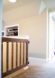 Baby Gates For Top Of Stairs With Banisters Custom Baby Gate Averie Lane Custom Baby Gate