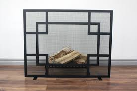 kent fireplace screen anvil fireside