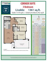 3 bedroom plans yorkson downs