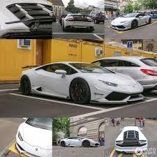 Lamborghini Huracan With Spoiler - luxury custom u0027s dmc huracan spotted in zurich