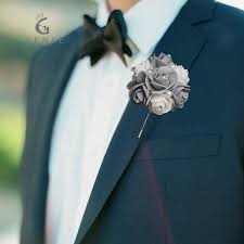 wedding boutonniere genie 2017 wedding boutonniere flowers suit corsage artificial