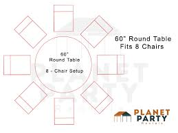 60 inch round table seats how many chairs does a 60 round table fit round designs