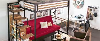 chambre ado petit espace solution petit espace une mezzanine design et fonctionnelle