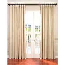 100 Length Curtains Curtains 100 Length Semi Opaque Eggnog Ivory Blackout Curtain