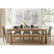 Big Sur Natural  Dining Table Crate And Barrel Big Sur - Crate and barrel dining room tables