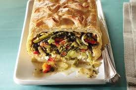 Mediterranean Style Roasted Vegetables Vegetables Wellington Redux Recipe Vegetarian Times
