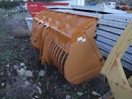 continental equipment cat 966d e f wheel loader skeleton bucket