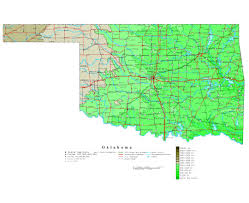 Map Oklahoma Maps Of Oklahoma State Collection Of Detailed Maps Of Oklahoma