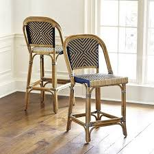 cafe bar stools paris bistro natural and navy bar stool