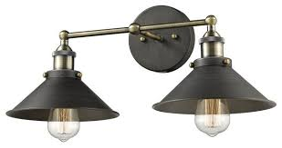 industrial wall sconce lighting industrial vintage metal 2 light wall sconce for prepare 4