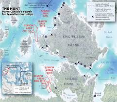 Oymyakon Map Masking The Past The Franklin Expedition And The Harper