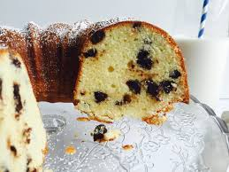 chocolate chip cream cheese pound cake violets u0026 vanilla