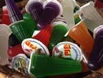 รูป ปีโป้ สีสันสดใส สำหรับยาคูลท์ปั่นปีโป้ ร้าน Mar Cafe' (5/6 ...