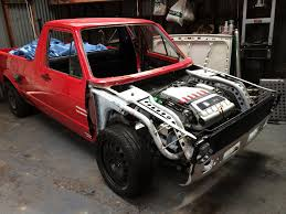 volkswagen rabbit truck lifted mk1 vw caddy r32 4 motion build threads