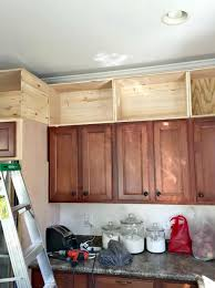 storage on top of kitchen cabinets space above kitchen cabinets storage home design ideas