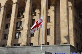 Flag Flown At Half Mast The State Flags Are Flown Half Mast On The Parliament Concerning