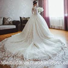 muslim wedding dress china lace bridal gowns luxury sleeves muslim