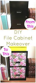 Aldi Filing Cabinet Diy File Cabinet Makeover Easy File Cabinet Makeover Using
