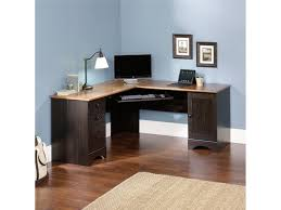 Small L Shaped Desk With Hutch Desk Corner Desk With Corner Hutch Corner Office Computer Desk