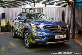 renault suv concept renault u0027s flagship suv the koleos is launched in malaysia