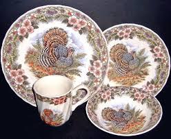 16 pc thanksgiving turkey dinnerware set s myott by churchill