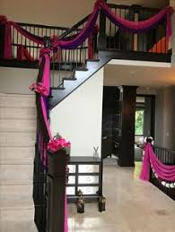 House Decoration Wedding Home Décor And Staircase Drapes Décor For An Asian Indian Wedding