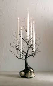 30 pretty candle decoration ideas for thanksgiving tree trunks
