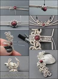 wire ear cuffs free ornate ear cuff tutorial by sylva tutorials