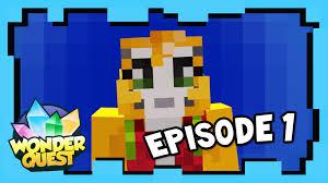 Stampy Adventure Maps Wonder Quest Episode 1 Stampylonghead Aka Stampy Cat Youtube