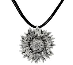 necklace cord images Or paz sterling silver sunflower multi cord necklace page 1 001