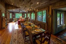 interior exciting rustic sunroom dining room design and decoration
