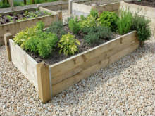 raised beds u0026 timber planters for vegetable gardening