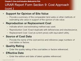 Va Rating Tables by One Unit Valuation Methods For Fha Chapter 5 Today U0027s Fha And Va 9