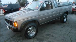 1986 nissan pickup 4x4 king cab v6 for sale near roseville