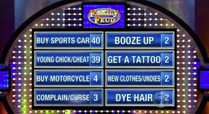 can you guess the top answer for these family feud questions