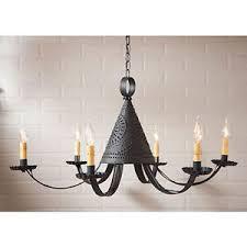 primitive kitchen lighting primitive colonial tin chandelier dining room or kitchen