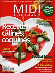 gourmand magazine cuisine midi gourmand midi gourmand