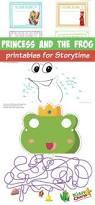 princess frog printables storytime