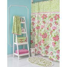 croscill damask stripe fabric shower curtain liner bath essentials