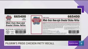 pilgrim pride application kcentv pilgrim s pride recalls 50 tons of chicken patties