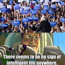 Buzz Lightyear Memes - hilarious meme exposes sad truth about bernie supporters