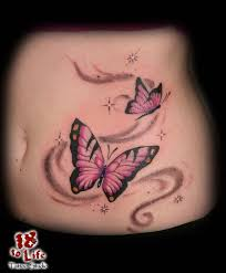 collection of 25 pretty nautical butterfly and swirls tattoos