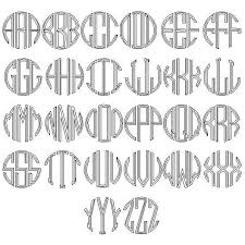 3 initial monogram fonts deco 3 initial monogram necklace by zeuner