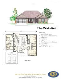 Spacious 3 Bedroom House Plans Floor Plans Morrison Builders