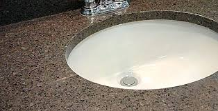 Choosing Bathroom Countertops And Vanity Tops - Bathroom vanity top glue